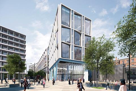 Google's King's Cross headquarters, designed by AHMM
